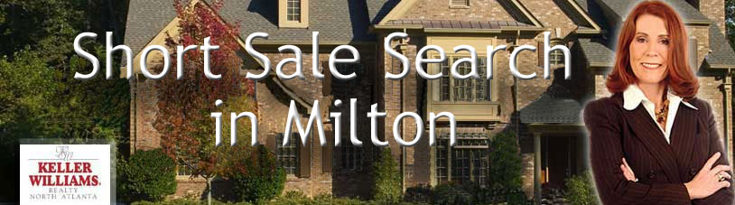 Search Short Sale Homes for Sale in Milton GA